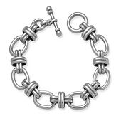 Couplet Link Toggle Bracelet