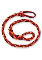 Poppy Red Woven Bracelet
