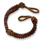 Cinnamon Woven Leather Bracelet