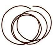 Brown Leather Cord, 2mm