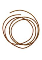 Light Brown Leather Cord, 2mm