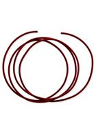 Red Leather Cord, 2mm
