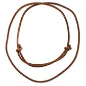 Rust Leather Cord