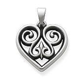 French Heart Charm, Small
