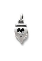 Heart Finial Charm