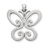 Spring Butterfly Pendant