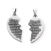 """Watch Over Thee"" Prayer Pendant"
