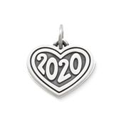 "Heart with ""2020"" Charm"