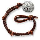 /ensemble/Mocha-Fishtail-Braided-Leather-Bracelet-with-Sand-Dollar-Clasp/124.uts