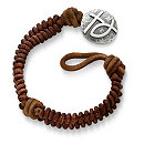 /ensemble/Cinnamon-Woven-Leather-Bracelet-with-Rustic-Cross-Ichthus-Clasp/128.uts