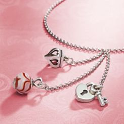 Shop the Look - Our Cascading Charm Necklace at James Avery
