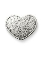 Textured Heart Clasp