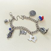 Texas, Home, and Heart Ready to Charm Bracelet
