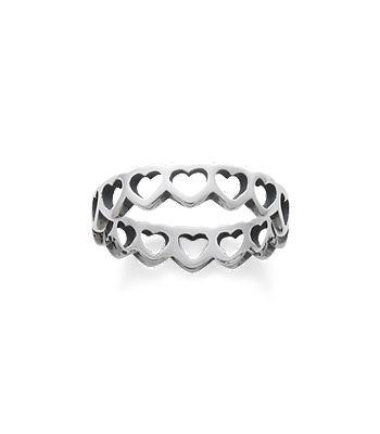 tiny hearts band - James Avery Wedding Rings
