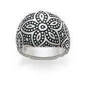Beaded Floral Ring