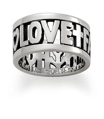 faith hope love ring - James Avery Wedding Rings