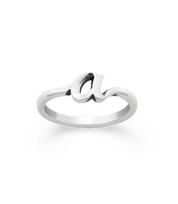 script initial ring - James Avery Wedding Rings