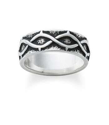 crown of thorns wedding band james avery - James Avery Wedding Rings