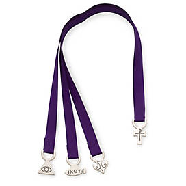 Cross & Trinity Ribbon Bookmark