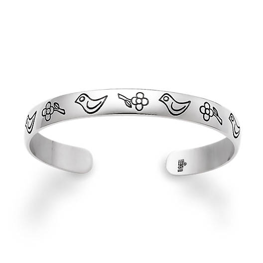 View Larger Image of Child's Birds & Flowers Bracelet