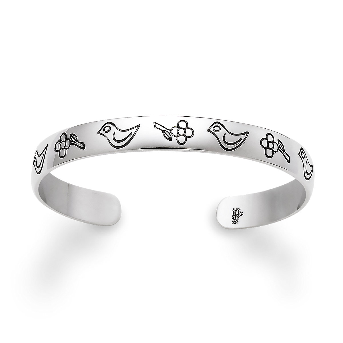 footprint baby with rings silver loss angel dove products ring cherub sterling my infant