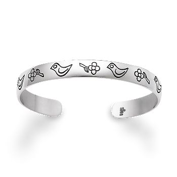 Child S Birds Amp Flowers Bracelet James Avery