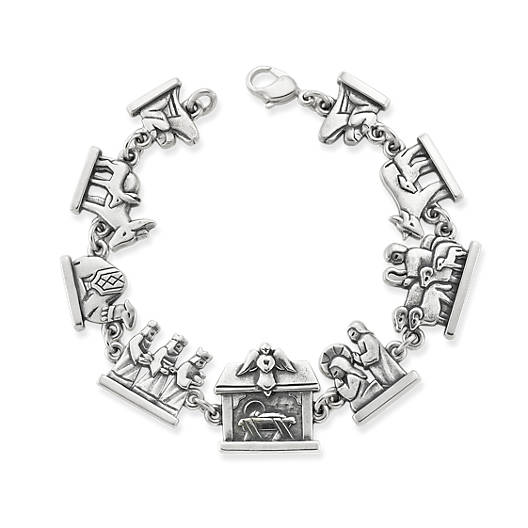View Larger Image of Nativity Link Bracelet