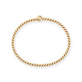Twisted Wire Hook-On Bracelet