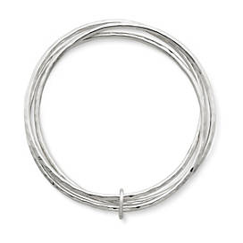 Linked Bangle Bracelets with Jump Ring