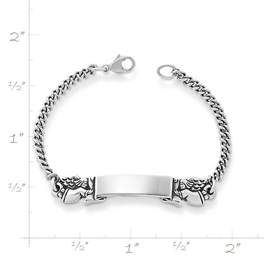 View Larger Image of Baby's Angel ID Bracelet