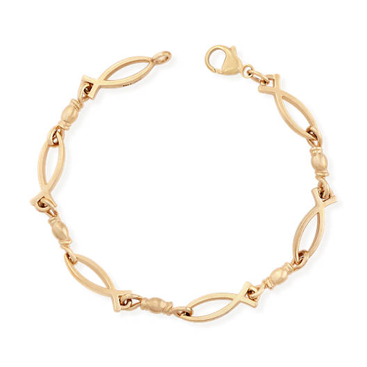 View Larger Image of Fishers of Men Ichthus Bracelet