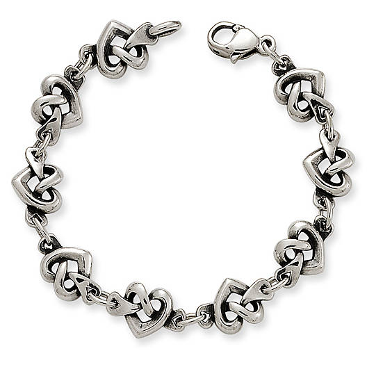 View Larger Image of Heart Knot Bracelet