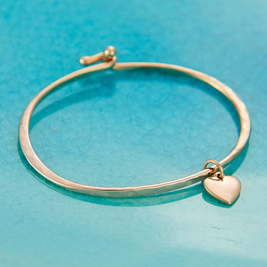 View Larger Image of Hammered Hook-On Bracelet