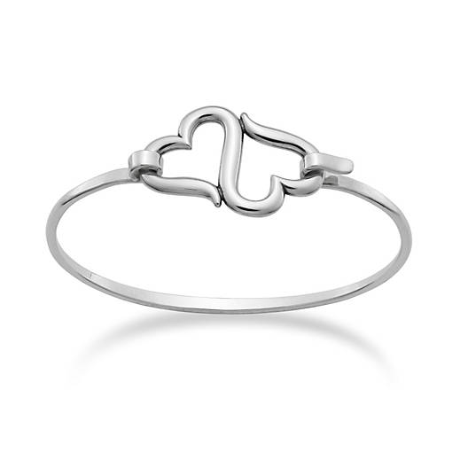 View Larger Image of Heart to Heart Hook-On Bracelet
