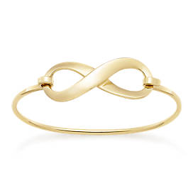 Bold Infinity Hook-On Bracelet