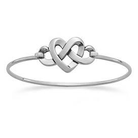 Heart Knot Hook-On Bracelet