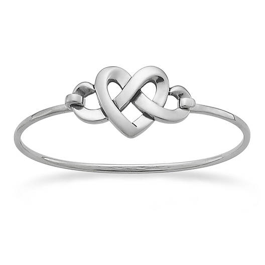 View Larger Image of Heart Knot Hook-On Bracelet