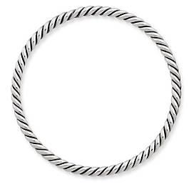 Continuous Twist Bangle Bracelet