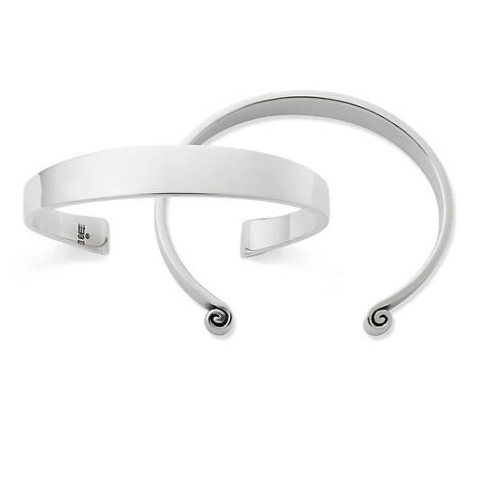 View Larger Image of Greek Scroll Cuff Bracelet