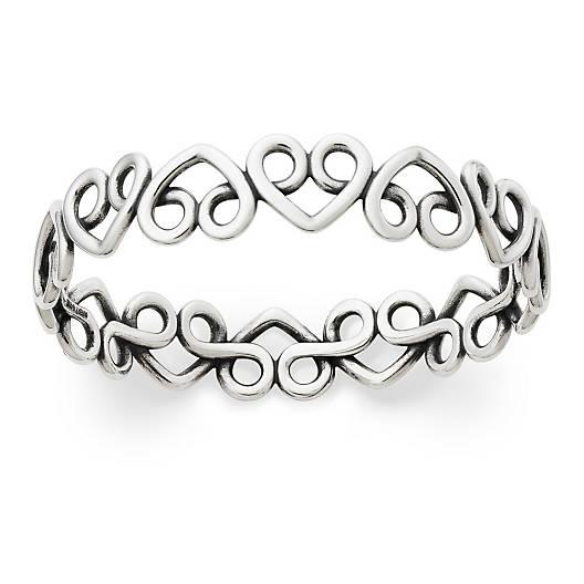 View Larger Image of Enduring Heart Bangle Bracelet