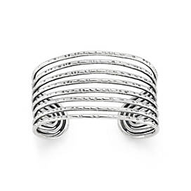 Eight Wires Cuff Bracelet
