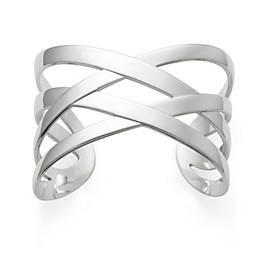Woven Ribbon Cuff Bracelet