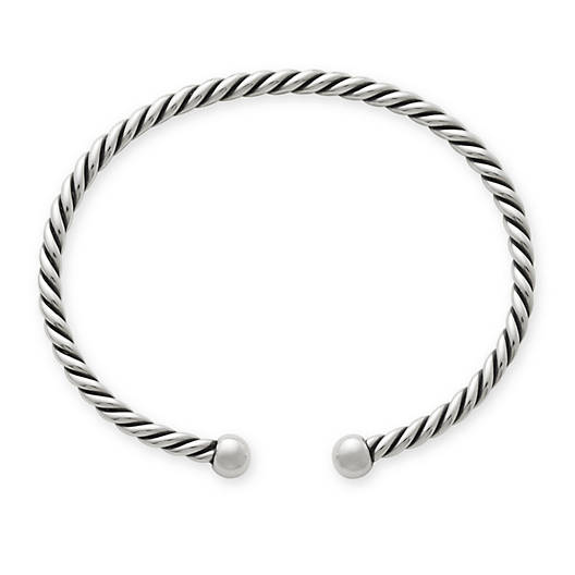 View Larger Image of Twisted Wire Cuff Bracelet