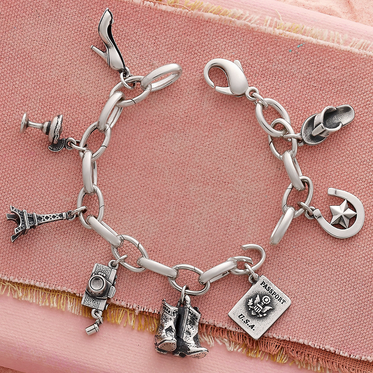 5b1bb44b2 Next. View Larger Image of Changeable Charm Bracelet ...