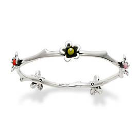 Spring Blossom Bangle Bracelet