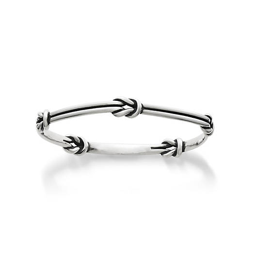 View Larger Image of Lovers' Knots Bangle Bracelet
