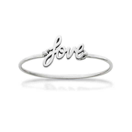 "View Larger Image of Flowing ""Love"" Hook-On Bracelet"