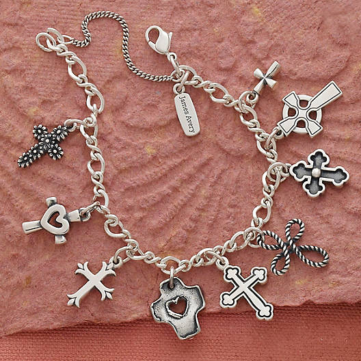 View Larger Image of Medium Twist Charm Bracelet