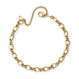 Medium Twist Charm Bracelet