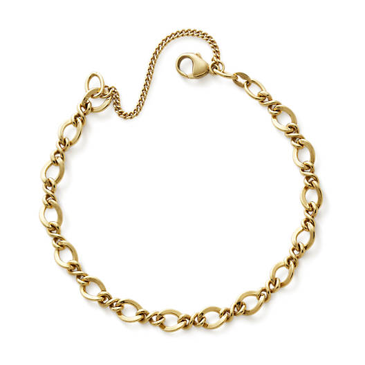 View Larger Image of Medium Twist Charm Bracelet